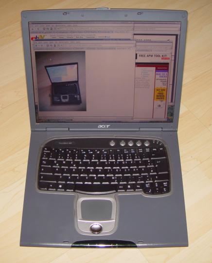 Acer TravelMate 800 Modem XP